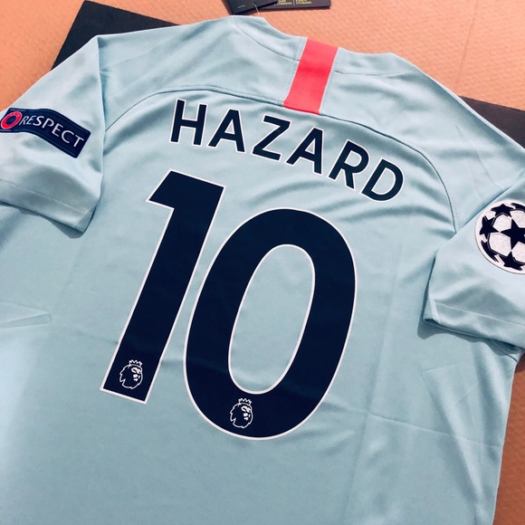 competitive price 05977 f6ab4 🚨 Eden Hazard #10 Third Chelsea Soccer Jersey 3M NWT